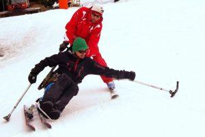 stations de ski équipées pour l'handiski