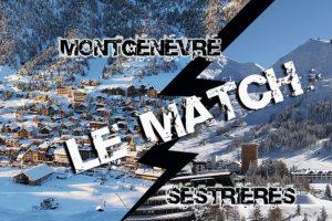 Montgenèvre vs Sestrières
