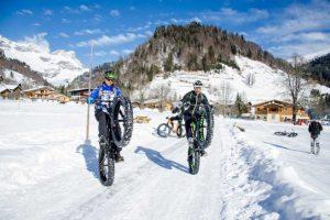 VTT sur neige VS Fat Bike