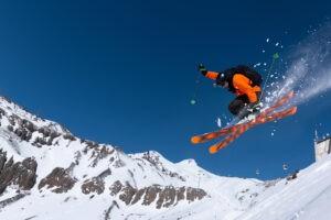 Freestyle freeride au backcountry air