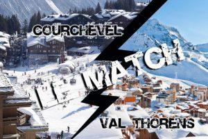 Courchevel vs Val Thorens