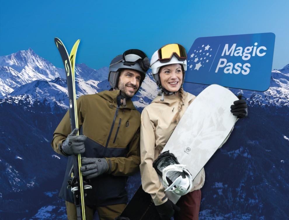 Magic Pass le forfait valable 1 an dans 40 stations suisses pour moins de 900€