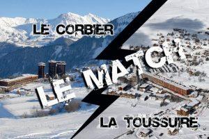 le Corbier vs la Toussuire